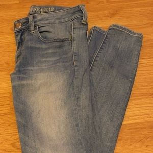 American Eagle Light blue jeggings